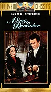 A Song to Remember [VHS]