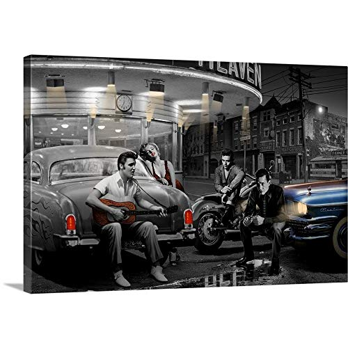 Chris Consani Premium Thick-Wrap Canvas Wall Art Print entitled Legendary Crossroads 30