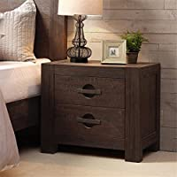 INK+IVY Monterey Nightstand Brown See below