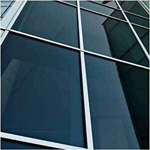 BDF NA20 Window Film Privacy and Sun Control N20, Black (Dark) - 36in X 50ft