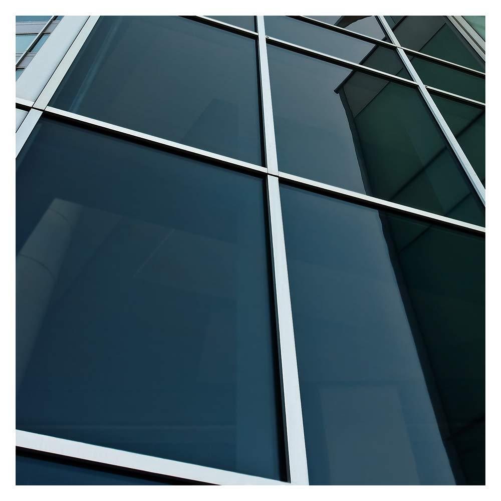 BDF NA20 Window Film Privacy and Sun Control N20, Black (Dark) - 36in X 24ft