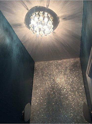 AFSJ Genuine White Herringbone Mother of Pearl Tile 12 Packs-Bathroom Kitchen Backspalsh by AFSJ (Image #8)