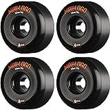 Mini Logo A-Cut Hybrid Black Skateboard Wheels - 58mm 90a (Set of 4)