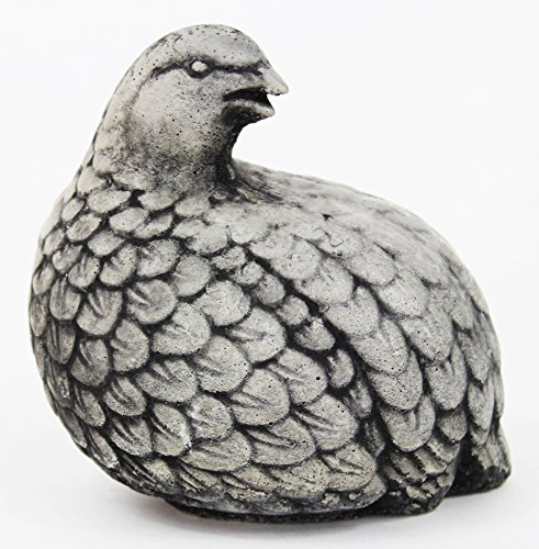 Quail Concrete Statue Bird Outdoor Cement (Concrete Animal Statues)