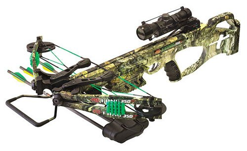 New PSE Fang 350 XT Mossy Country Crossbow