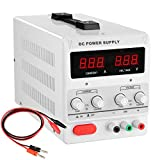 30v 10a 110v Precision Variable Dc Power Supply Digital Adjustable Regulated Lab Grade Safe Circuit Design W Clip Cable