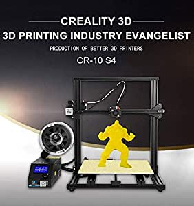 Laecabv Creality CR-10S4 3D Printer Impresora 3D - Dua Z ...