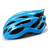 【037】【CEマーク準拠】超軽量ジャパンフィットO-cle自転車ヘルメット ブルー