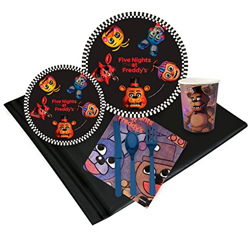 Five Nights At Freddy's 2 Costume Night (Five Nights at Freddys Party Supplies Party Pack (24))