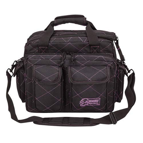 (VooDoo Tactical 15-7621 Ladies Standard Scorpion Range Bag, Black/Purple)