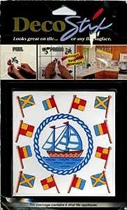 Decostix Nautical Sailing Vinyl Tile Appliques