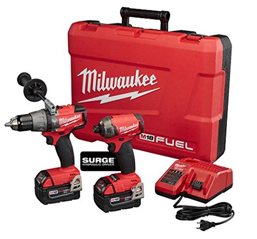 Milwaukee M18 FUEL Hammer Drill and Hydraulic Driver 2-Tool Combo -