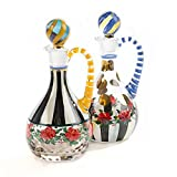 MacKenzie-Childs Heirloom Cruet Set