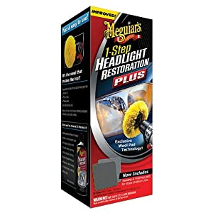 Meguiar's G1900K Headlight and Clear Plastic Restoration Kit