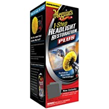 Meguiar's G1900K Headlight and Clear Plastic Restoration Kit