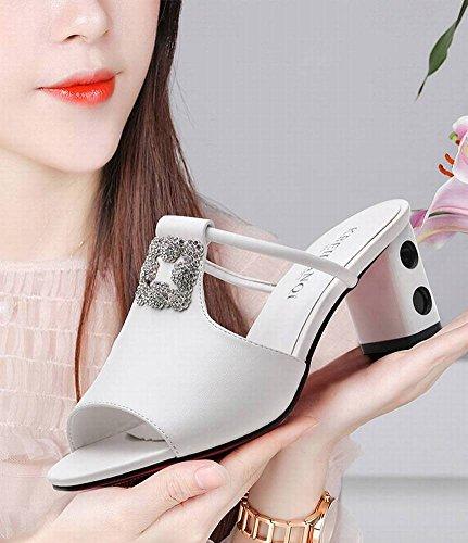 Imitaci de Femeninas Diamantes Sandalias de Sandalias WXfgqnEE