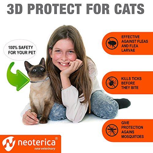 Rolf Club Collar Cats Flea and Flea Tick Safe Repellent - Waterproof