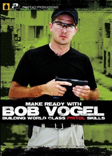 Vogel Star - Panteao Productions: Make Ready with Bob Vogel Building World Class Pistol Skills - PMR005 -  Robert Vogel - USPSA - IDPA - Pistol Training - Handgun Skills Training - DVD