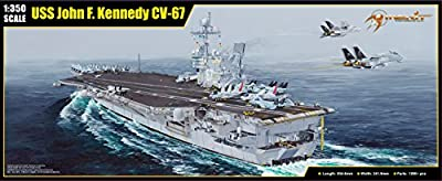 MRT65306 1:350 Merit USS John F Kennedy CV-67 [MODEL BUILDING KIT]