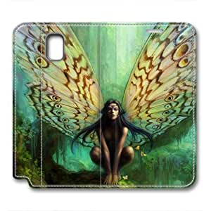 iCustomonline Leather Case for Samsung galaxy Note 3, Fairy Ultimate Protection Leather Case for Samsung galaxy Note 3
