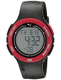 PUMA Unisex PU911211001 Puma Touch Digital Display Quartz Black Watch