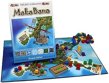 Tilsit 170010 Maka Bana - Juego de Mesa de Estrategia y táctica ...