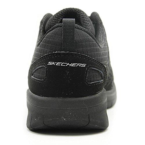 12378 Kvinde Skechers Bbk Sort Sneaker rwXxYFqX