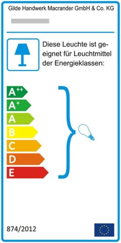 GILDE Lampe Wichtel - aus Kunstharz Creme-beige E14 max 25 W Höhe 26 cm Hirsch - H:20cm - Weiß