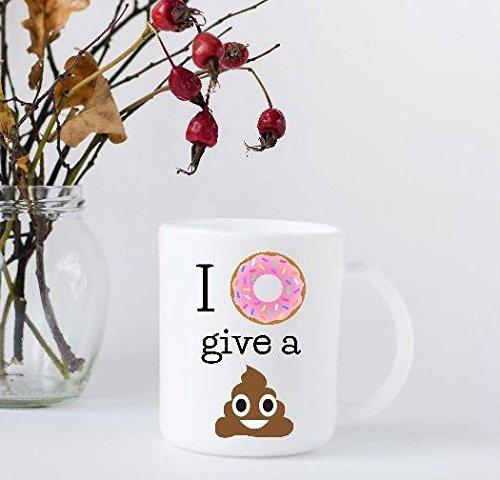 I Don't Give a Poo Coffee Mug - Funny Coffee Mug
