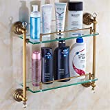 LAONA All European antique bronze ribbon drill, bathroom fittings, paper reel, soap box,Rack 2