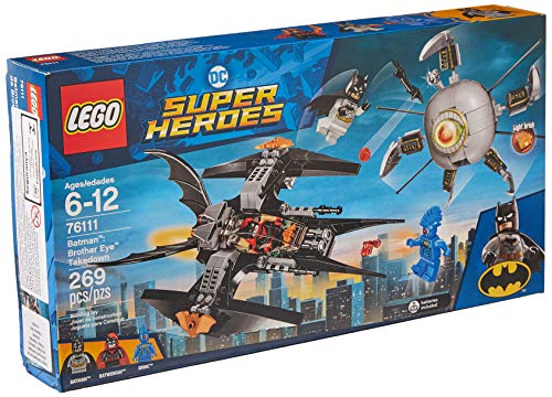- LEGO DC Super Heroes Batman: Brother Eye Takedown 76111 Building Kit (269 Piece)