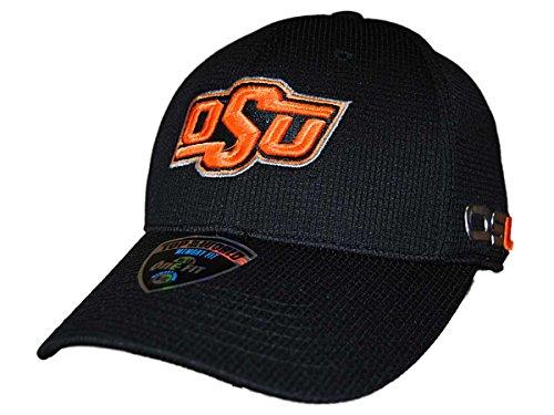 Oklahoma State Cowboys TOW Black Ironside Memory FLEXFIT Hat Cap (M/L) ()