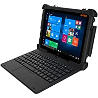 MobileDemand Flex 10A Windows 10 Pro Rugged 2-in-1 Tablet / Laptop with Keyboard - Military Drop Tested