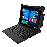 MobileDemand Flex 10A Windows 10 Pro Rugged 2-in-1 Tablet/Laptop with Keyboard - Military Drop Tested