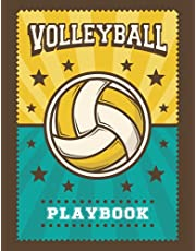 Volleyball Playbook: 119 Court Diagrams