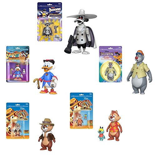Funko Action Figures Disney Afternoon Scrooge McDuck, Baloo,