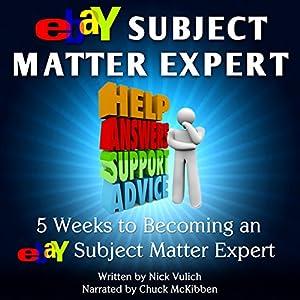 eBay Subject Matter Expert Audiobook