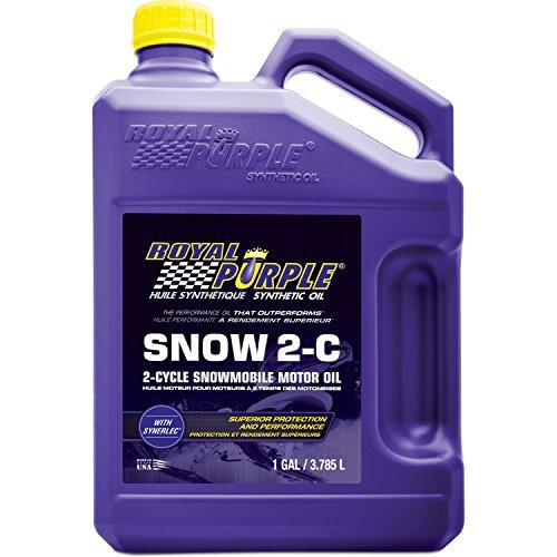 (Royal Purple 04511 Snow 2-C High Performance Synthetic 2-Cycle Snowmobile Oil - 1 gal. by Royal Purple)