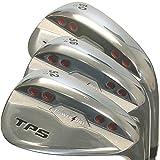 PowerBilt Golf TPS 3-Piece Wedge Set, AW(52/10 SW(56/14 LW(60/10