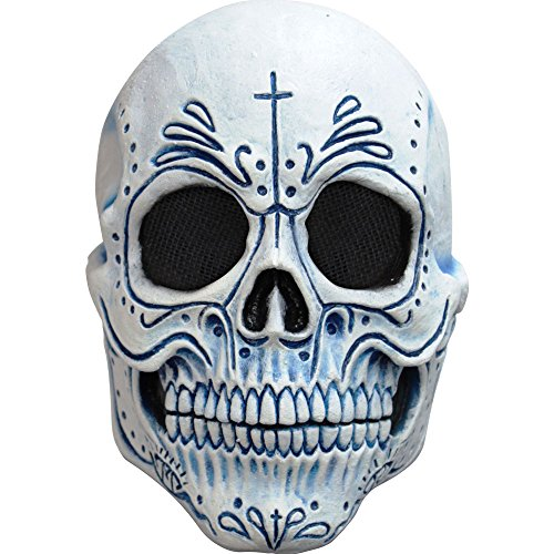 [Adult Mexican Catrin Dia De Los Muertos Mask] (Adult Day Of The Dead Mask)