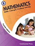 Mathematics: Skills, Concepts, Problem Solving, Continental Press Staff, 0845458582