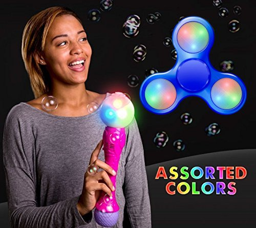 - blinkee LED Bubble Magical Spinning Wand with Music by