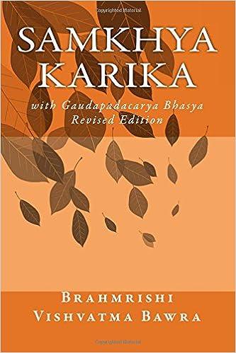Samkhya Karika: with Gaudapadacarya Bhasya: Amazon.es ...