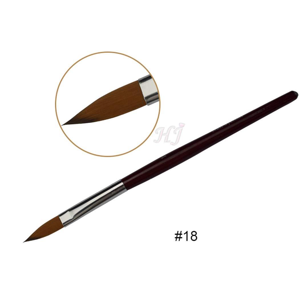 Amazon Com Applicationhelp >> Amazon Com Acrylic Nail Art Brush No 2 4 6 8 10 12 14 16