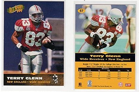 e380ef313 Amazon.com  1996 Terry Glenn Ohio State Buckeyes Rookie Draft Pick ...