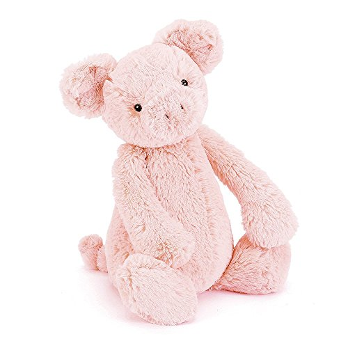 Jellycat Bashful Pig Stuffed Animal, Medium, 12 ()