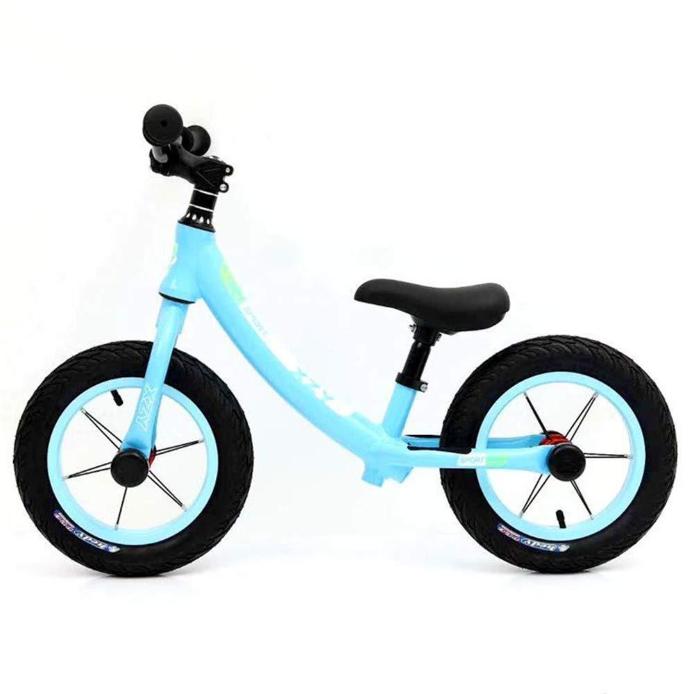LIDU Biciclette Senza Pedali Bambini per 26 Anni di età I Bambini Bici Completa per I Bambini della Bicicletta,blu