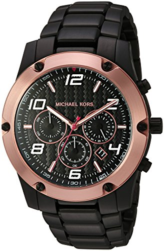 Michael Kors Men's Caine Black Watch MK8513