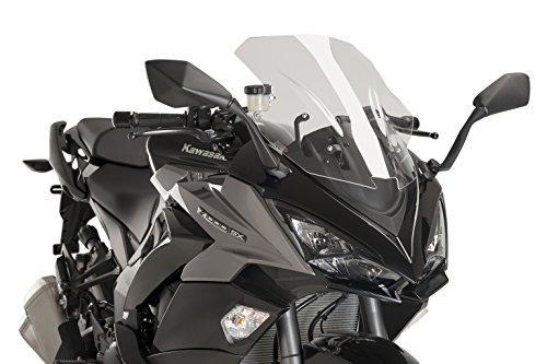 - Puig Racing Screen Color Transparent 9408W for Kawasaki Z1000SX 17'-18