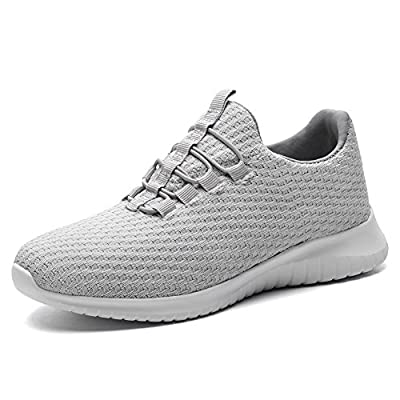 TIOSEBON Women's Lightweight Casual Walking Athletic Shoes Slip-On Sneakers